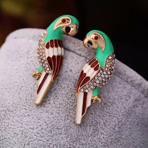 COMING SOON🎈 Betsey Johnson Parrot Earrings